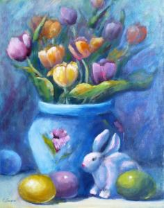Easter Painting Print Available for Sale